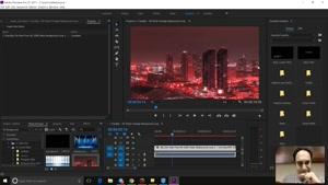 دکمه های مانیتور در Adobe premiere