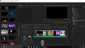 تغییر یکباره ترنزیشن ها در Adobe Premiere