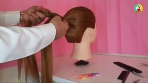 آموزش شیک ترین بافت مو