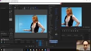 متن در سال 2017 در Adobe premiere