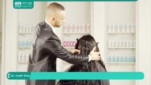 آموزش ترمیم موهای آسیب دیده با کراتینه