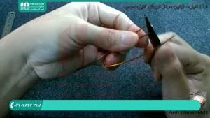 آموزش ساخت انگشتر زیبا با سیم مسی