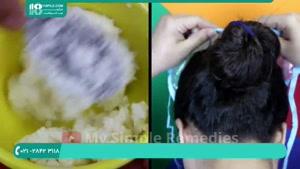 روش درست کردن مواد کراتینه مو در منزل