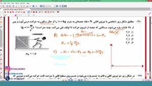 پاسخنامه تشریحی فیزیک رشته تجربی کنکور 99 - محمد پوررضا مدرس