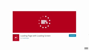 لودینگ برای سایت وردپرسی با افزونه Loading Page with Loading