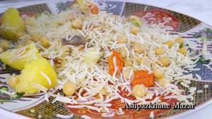 طرز تهیه پلو با سبزیجات خوشمزه و ساده
