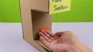 چگونه در خانه یک دستگاه ضدعفونی دستی اتوماتیک بسازیم؟