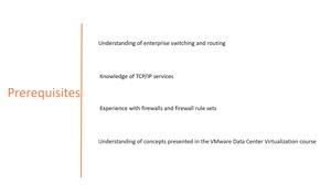 دوره آموزشی VMware NSX ورژن 6.4 قسمت 1 : معرفی دوره