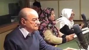 پشت صحنه دوبله فیلم با حضور دوبلورهای معروف ایران