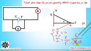 آموزش فیزیک استاد سربلند- مدار ساده