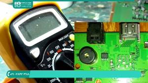 آموزش تعمیر پورت خروجی تصویر  HDMI  در دستگاه استیشن 4