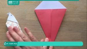 آموزش ساخت اوریگامی پرنده مخصوص کودکان