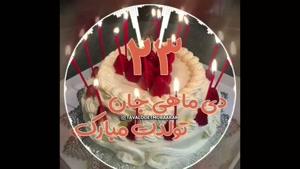 کلیپ تبریک تولد 23 دی برای وضعیت واتساپ