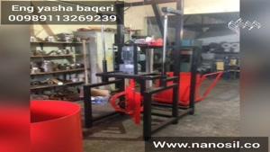 فروش دستگاه تولید سنگ مصنوعی سمنت پلاست نیمه اتوماتیک