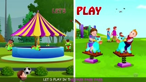 lets play in the park song - #chuchutv