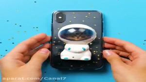 کلیپ دیدنی ایده های خلاقانه و جالب با قاب گوشی تلفن همراه