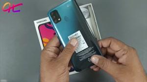ویدیو جعبه گشایی گوشی موبایل سامسونگ Galaxy F41