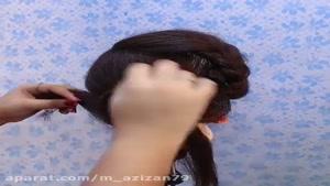 کلیپ اموزشی ۱۵ مدل موی جدید برای مهمانی و عروسی