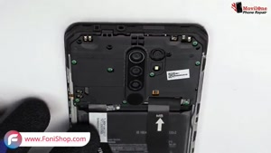 آموزش تعویض باتری گوشی شیائومی ردمی 9 - فونی شاپ