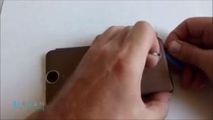 آموزش تعمیرات موبایل - ویدئو باز و بسته کردن گوشی HTC E9 Plu