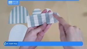 طریقه دوخت پاپوش پارچه ای برای نوزاد