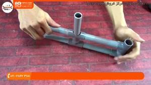طرز ساخت آبنما طبقاتی با لوله های PVC