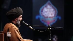 سخنرانی حجت الاسلام سید عباس موسوی مطلق فاطمیه ٩٩