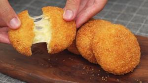 طرز تهیه مرغ سوخاری با پنیر