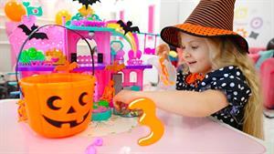 ماجراهای دیانا و روما این داستان تزئین هالووین
