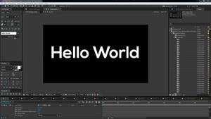 دانلود اسکریپت Font Manager 1.042 برای افترافکت