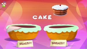 healthy and unhealthy