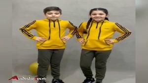 ست کاپشن شلوار بچگانه مدل شایان