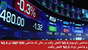 گزارش قبل بازار آمریکا- جمعه 9 مهر 1400