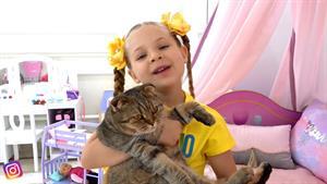 ماجراهای دیانا و روما این داستان گربه ی زیبا