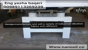 ساخت و فروش انواع میز ویبره سنگ مصنوعی