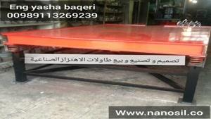 ساخت و فروش انواع تجهیزات ،دستگاههای و خط تولید سنگ مصنوعی