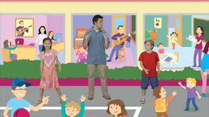 big fun 3 - target song unit 1 - people at school
