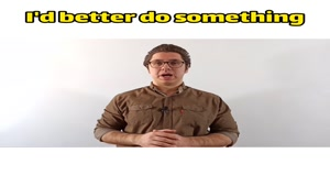 گرامر would rather و had better