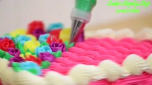 طرز تهیه کیک عاشقانه خوشمزه برای روز ولنتاین