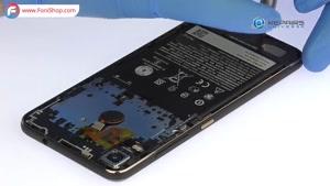 کالبد شکافی و آموزش تعویض باتری HTC Desire 10 pro - فونی شاپ