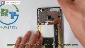 آموزش تعویض باتری گوشی هوآوی P9 lite - فونی شاپ