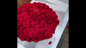 کلیپ صبح بخیر زیبا با گلهای بهاری برای استوری