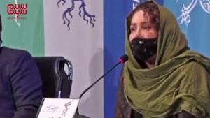 شوخیهای رضا عطاران با ژاله صامتی در جشنواره فیلم فجر 39