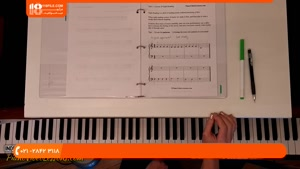 آموزش نواختن پیانو _ آشنایی با خطوط حامل