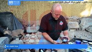 آموزش نصب سیستم نورپردازی برای آبنما سنگی