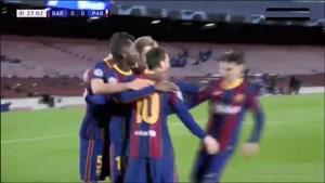 خلاصه بازی بارسلونا و پاری سن ژرمن