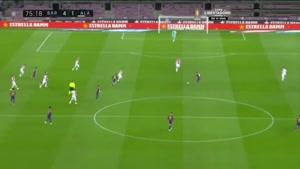 خلاصه بازی بارسلونا و آلاوز