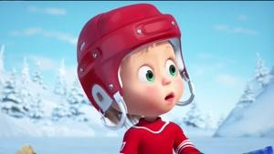 کارتون ماشا و میشا - بازی شگفت انگیز زمستانی