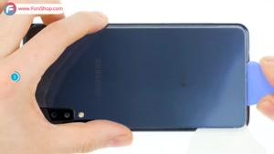آموزش تعویض باتری گوشی سامسونگ گلکسی A7  - فونی شاپ