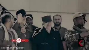 لحظاتی کمتر دیده شده از حضور شهیدان سلیمانی و مهندس در جبهه